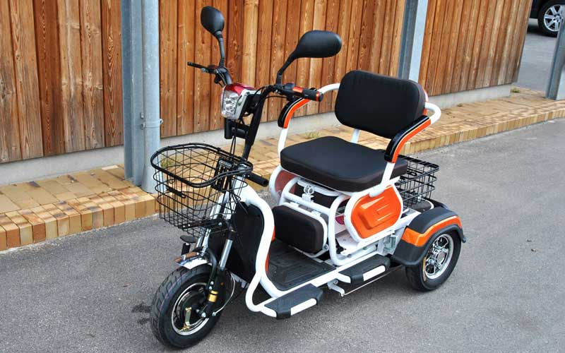 El-scooter fra Carper