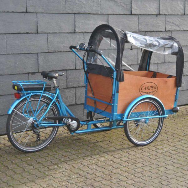 Familie cykel med plads til børn