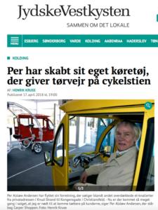 Artikel om CARPER i Jyske vestkysten