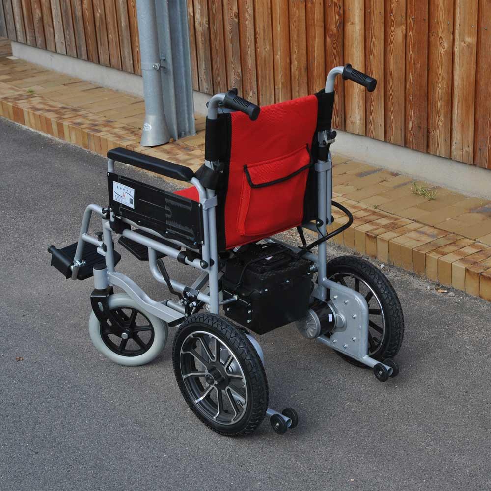 Foldbar el-kørestol