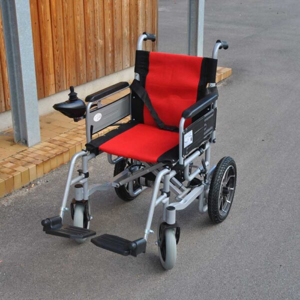 El-kørestol foldbar